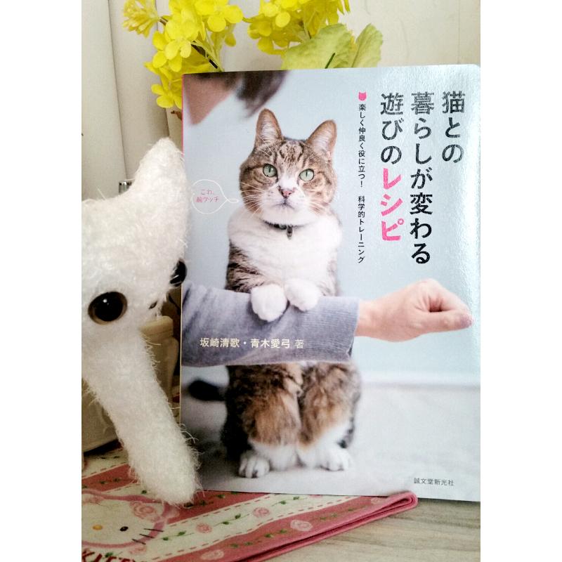 猫との暮らしが変わる遊びのレシピでうちの子もできたよ!
